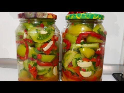 Как заготовить зеленые помидоры на зиму