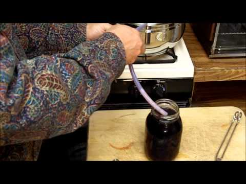 Steam Juicing - Canning Blackberry Juice & Jelly