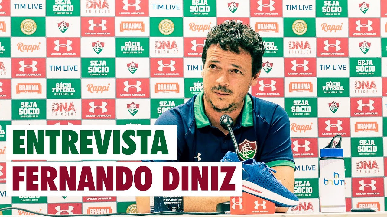a866bca61de9e FluTV - Coletiva - Fernando Diniz - Flamengo 3 x 2 Fluminense - YouTube