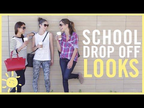 MOM STYLE | School Drop Off