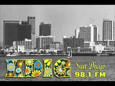 Sandy Harris Aircheck - KDIG 98.1 FM San Diego, Circa 1971