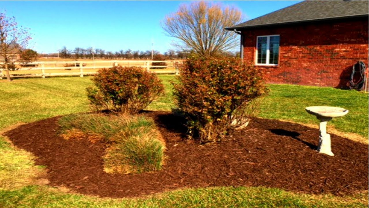 Landscape Project Flower Bed Makeover