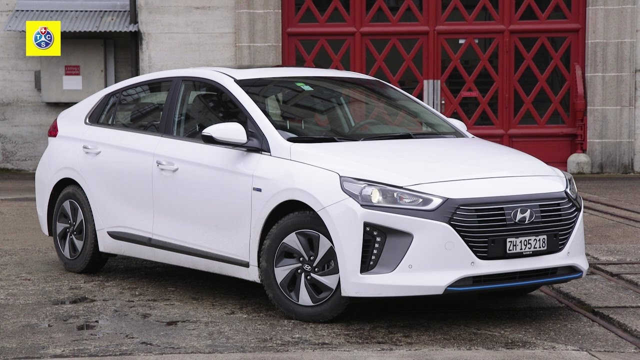 hyundai ioniq hybrid autotest youtube