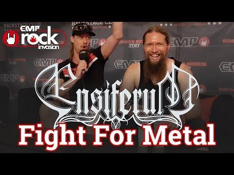 Interview mit Ensiferum : Fight For Metal (Summer Breeze 2017)