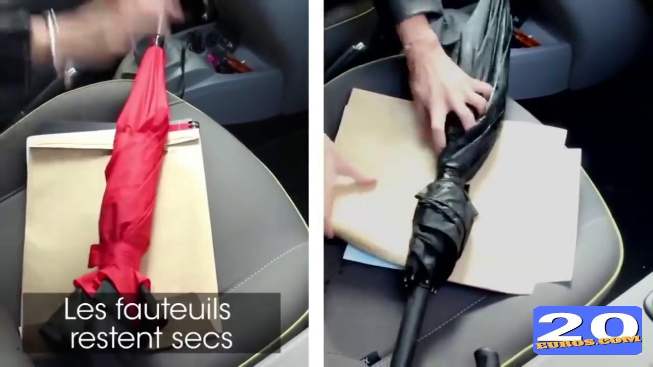 acheter en ligne c031a 159ff Parapluie Inversé innovant, Mains Libres poignée en forme C - Idéal pour  Voiture et Voyage