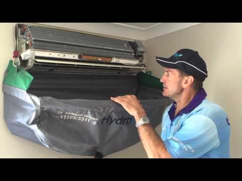 How to Clean a Split System Air Conditioner: HydroKleen Brisbane South