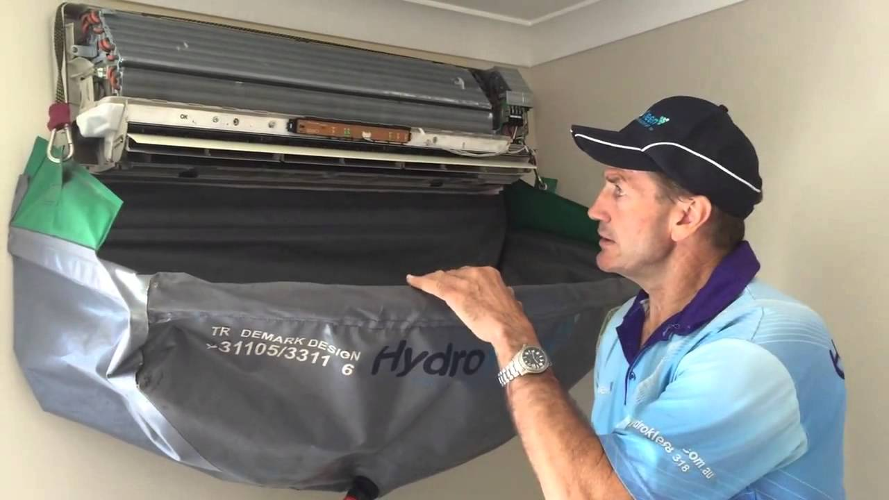 air conditioning cleaning. how to clean a split system air conditioner: hydrokleen brisbane south - youtube conditioning cleaning i