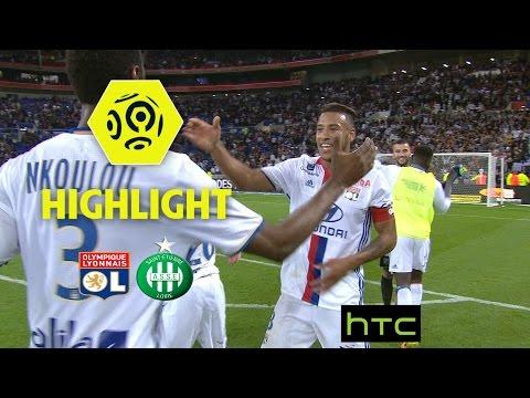 Olympique Lyonnais - AS Saint-Etienne (2-0) - Highlights - (OL - ASSE) / 2016-17