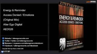 Energy & Reminder - Access Denied (Original Mix)