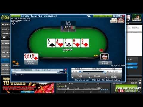 How to Play Omaha Poker Online - OnlineCasinoAdvice.com