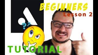 Auxy studio tutorial lesson 2 Video