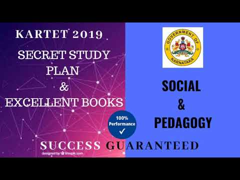 KARTET 2019 : Social Secret Study plan & Excellent books