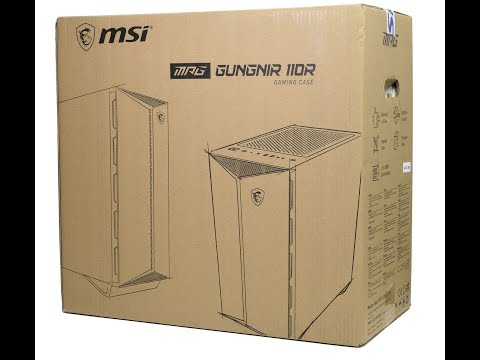 Корпус MSI MPG Gungnir 110R