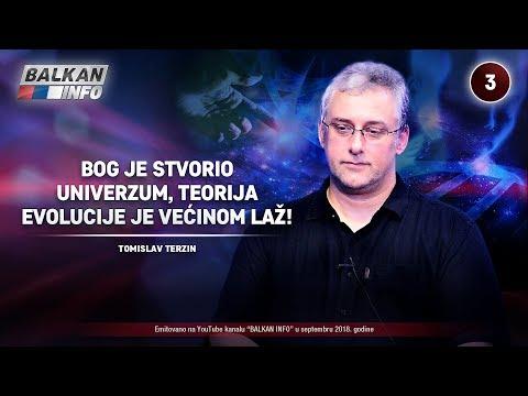 INTERVJU: Tomislav Terzin - Bog je stvorio univerzum, teorija evolucije je većinom laž! (14.9.2018)