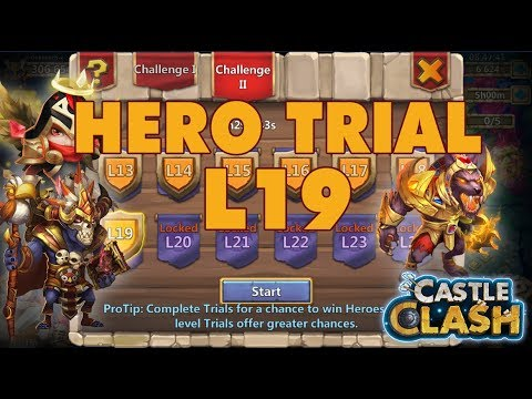 Farming Hero Trials L19 - Wonderful | Castle Clash