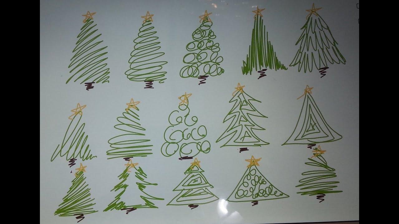 Pine Tree Cam Agaci Cizimleri Sanatin Renkleri Youtube