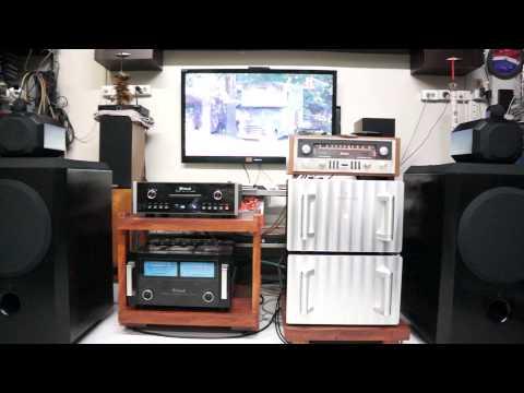 B&W 801 Matrix / Jeff rowland model 8 DC/ Mcintosh MCD301/ Mcintosh MX110