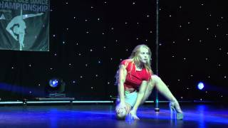 Olga Koda - Showcase - Greek Pole Dance Championship 2015 by RAD Polewear
