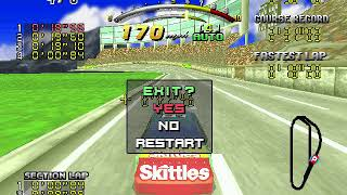 Daytona USA Deluxe (PC) - More modding (now with more Skittles)