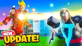 BEST FORTNITE UPDATE (New POI/Mythics)