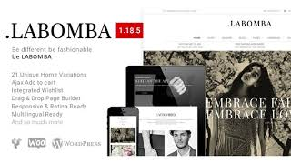 Labomba - Responsive Multipurpose WordPress Theme | Themeforest Website Templates and Themes