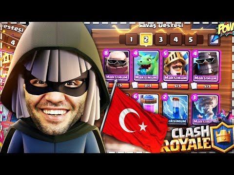 OYUN GEMİSİ 🇹🇷 TÜRKİYE SIRALAMASINDA !! - Clash Royale