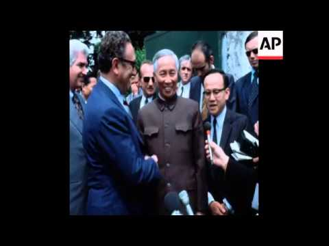 UPITN 13 6 73 END OF LATEST BOUT OF KISSINGER AND LE DUC THO TALKS