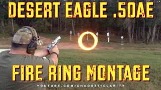 Desert Eagle 50AE - Slow Motion Fire Ring Montage!