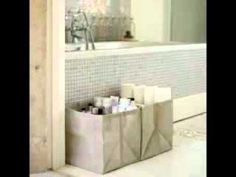 Bathroom Towel Storage Design Ideas - Youtube
