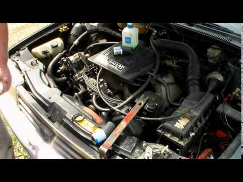 Eagle Premier ES 1989 coolant hose from head to water pump replace
