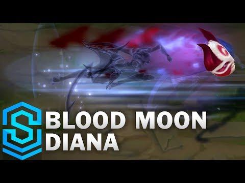 Blood Moon Diana (2019) Skin Spotlight - League of Legends