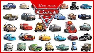 Disney Pixar Cars 3 All Characters Cars