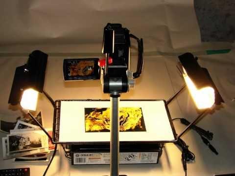 Vacuum Photo Copy Stand.wmv