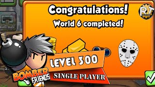Bomber Friends - Single Player Level 300 [World 6 Completed - Last Level]