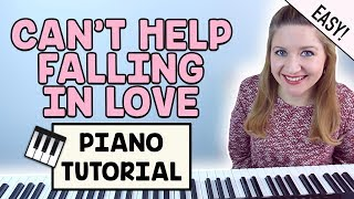 Can't Help Falling In Love - Elvis / Twenty One Pilots (EASY PIANO TUTORIAL)