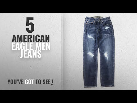 Top 10 American Eagle Men Jeans [ Winter 2018 ]: American Eagle Men's 360 Extreme Flex Slim Straight