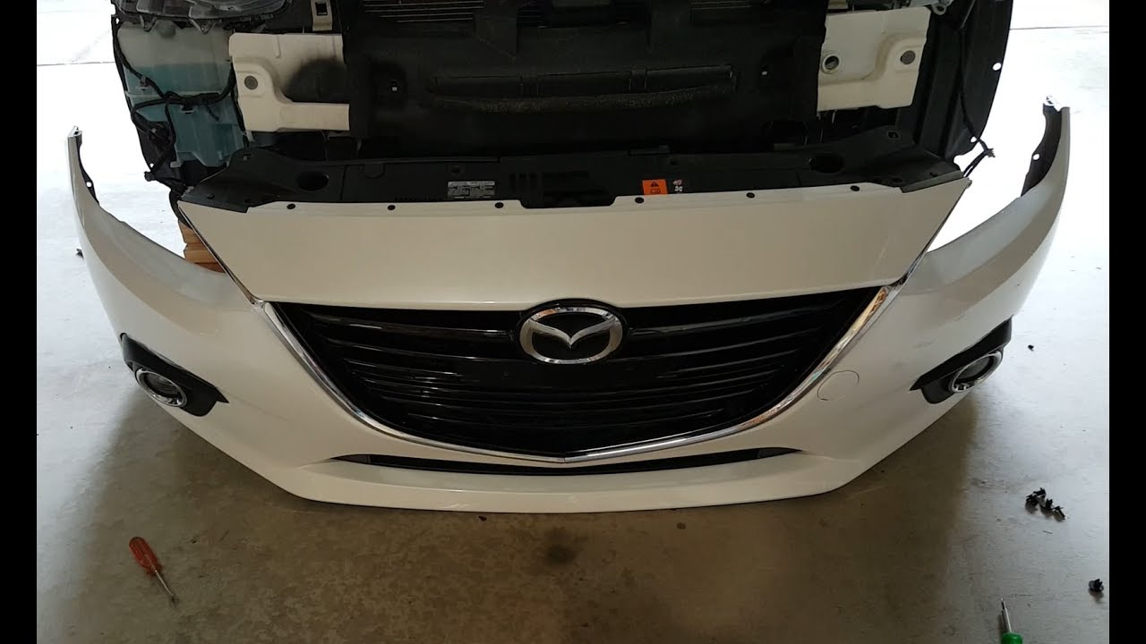 Mazda 3 Front Bumper Removal 2014 Youtube