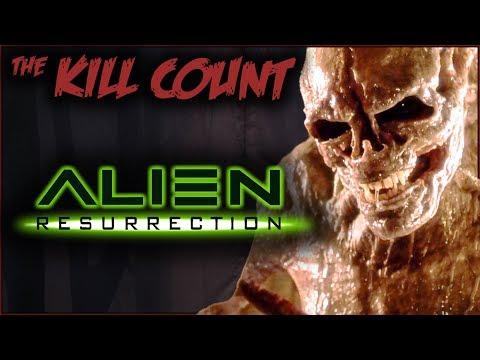 Alien Resurrection (1997) KILL COUNT