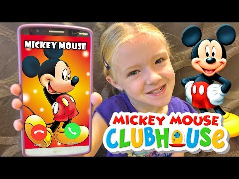 Calling Mickey Mouse in Real Life *OMG* He Answered!!! Calling Disney Clubhouse Characters