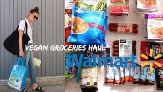 MODEL GROCERY HAUL FROM WALMART (VEGAN)