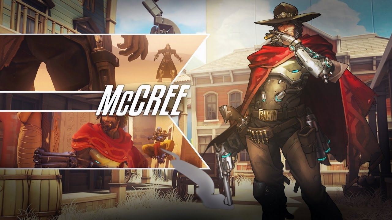 Ps4 Overwatch Top 1 Grandmaster Mccree On Hollywood Youtube Ps4overwatch Reg 2