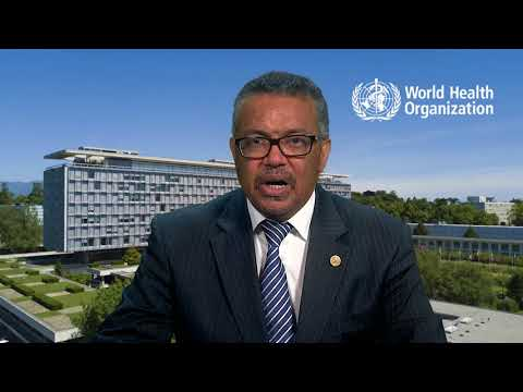Dr. Tedros Adhanom Ghebreyesus, Director-General, World Health Organization