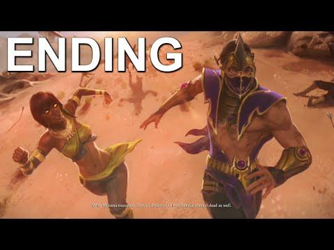 Mortal Kombat X Tanya Ending