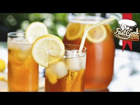Comment faire de  l'ice tea | FastGoodCuisine