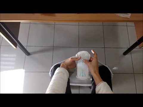 ped değiştirme/ changing sanitary pads