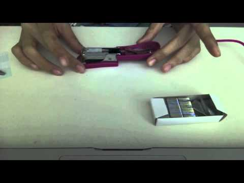 How To Refill A Stapler