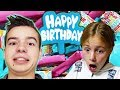 Savannah's Birthday Special! | Opening Presents and Birthday Surprise From BRANSON!!