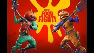 FORTNITE BATTLE ROYALE - Food Fight Gameplay PS4/XB1/PC/Mobile HD60fps | PureGaming
