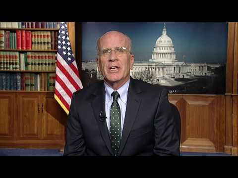 U.S. Representative Peter Welch (VT) addresses the 35th annual NOFA-VT Winter Conference