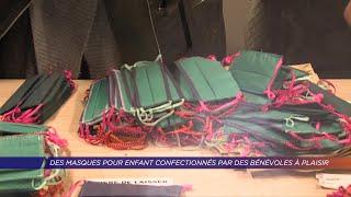 Yvelines | Des masques pour enfants confectionnés par des bénévoles à Plaisir